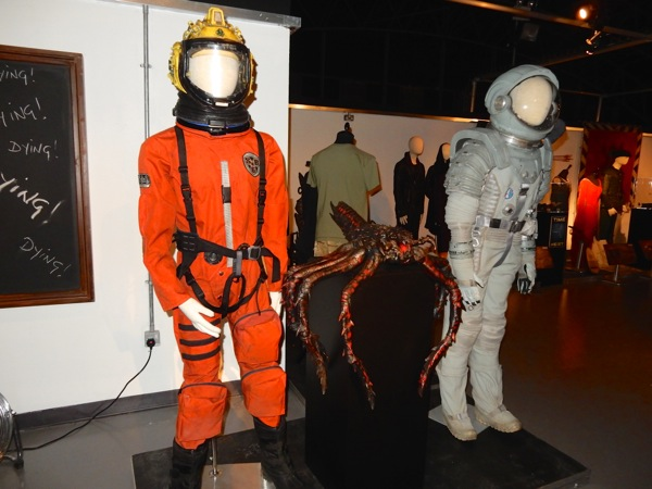 Doctor Who spacesuits exhibit