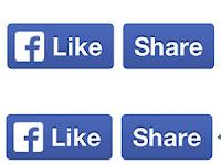 Membuat tombol like dan share facebook di blogger