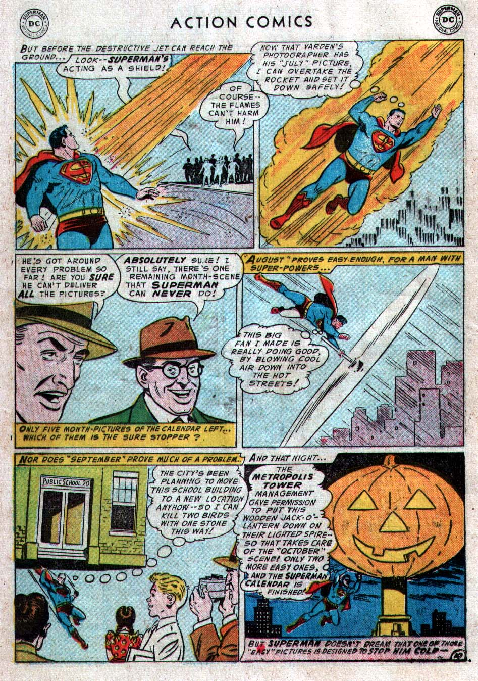 Read online Action Comics (1938) comic -  Issue #212 - 12