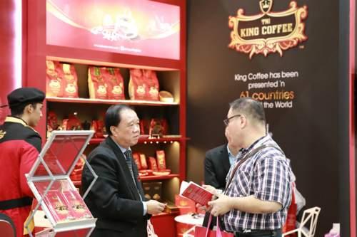 Trung Nguyên ra mắt các dòng sản phẩm cà phê mới thuộc nhãn hiệu King Coffee tại Singapore - Ảnh 1