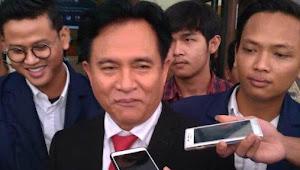Yusril Beberkan Alasan Mengapa MK Akan Tolak Gugatan Prabowo - Sandi