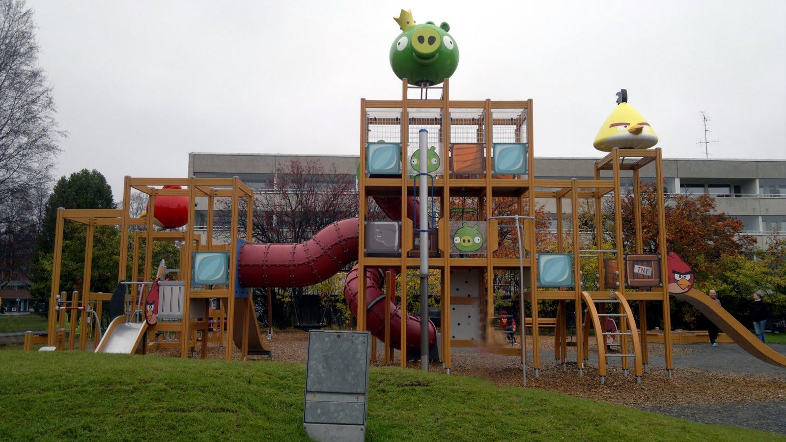 Angry Birds Puisto Rovaniemi