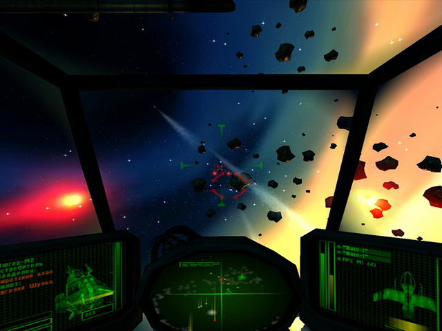 لعبة مغامرات الفضاء Star Raid Inception
