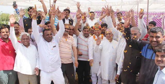 BJP leader Rajesh Nagar dedicated the name of heroes martyrs to Holi