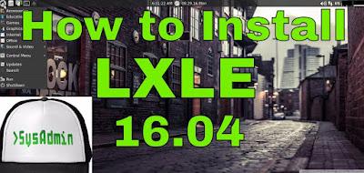 LXLE 16.04 Linux