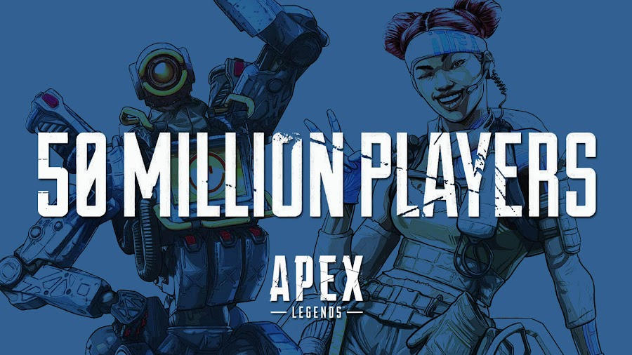 apex legends 50 million players respawn entertainment