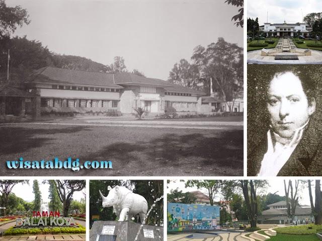 Balai Kota Bandung, dari Gudang Kopi Jadi Gedung Pemerintah