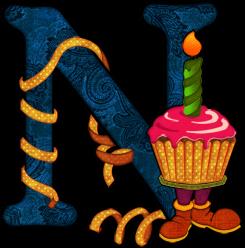 Alfabeto Fiesta de Cumpleaños.