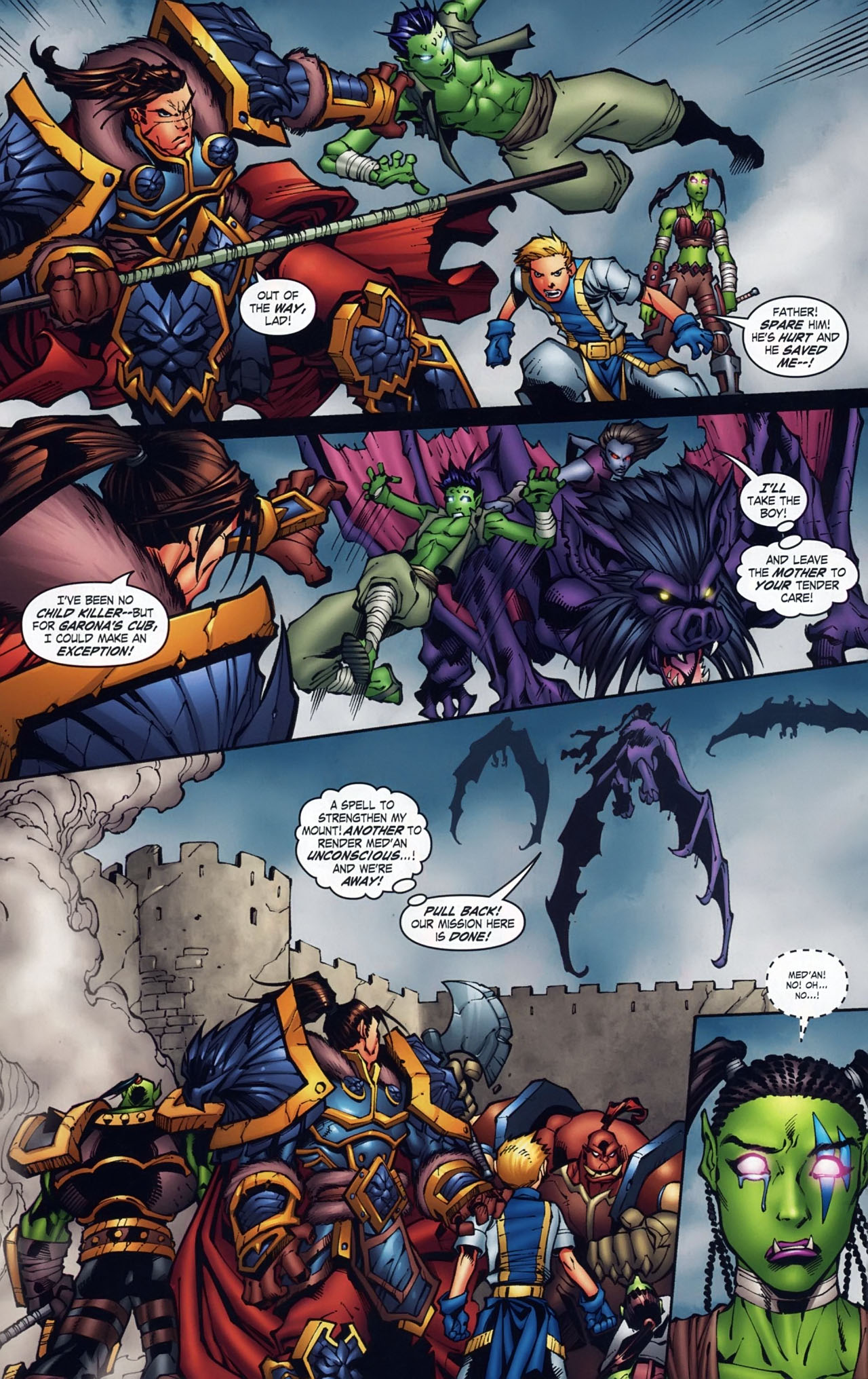 Read online World of Warcraft comic -  Issue #18 - 12