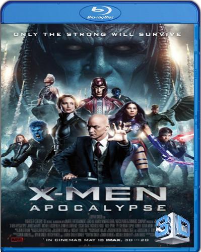 X-Men: Apocalypse [2016] [BD50] [3D] [Latino]