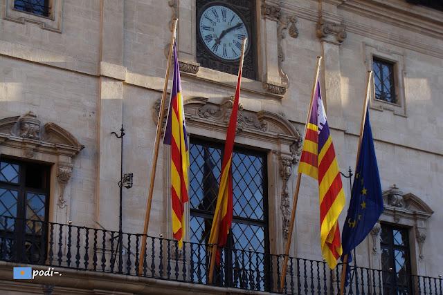 Rellotge Ajuntament de Palma