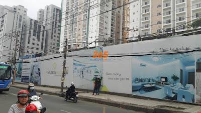 Thi công hàng rào công trình xây dựng