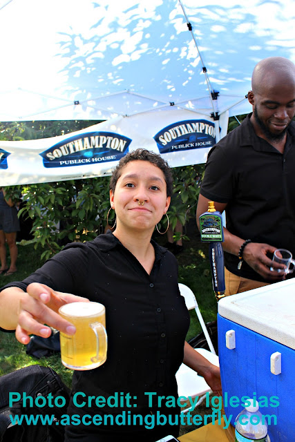 Southampton Publick House Double White at Blues, Brews and Botany New York Botanical Garden NYBG Fall 2017