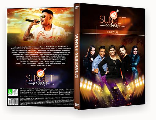CAPA DVD – Sunset Sertanejo Especial DVD-R