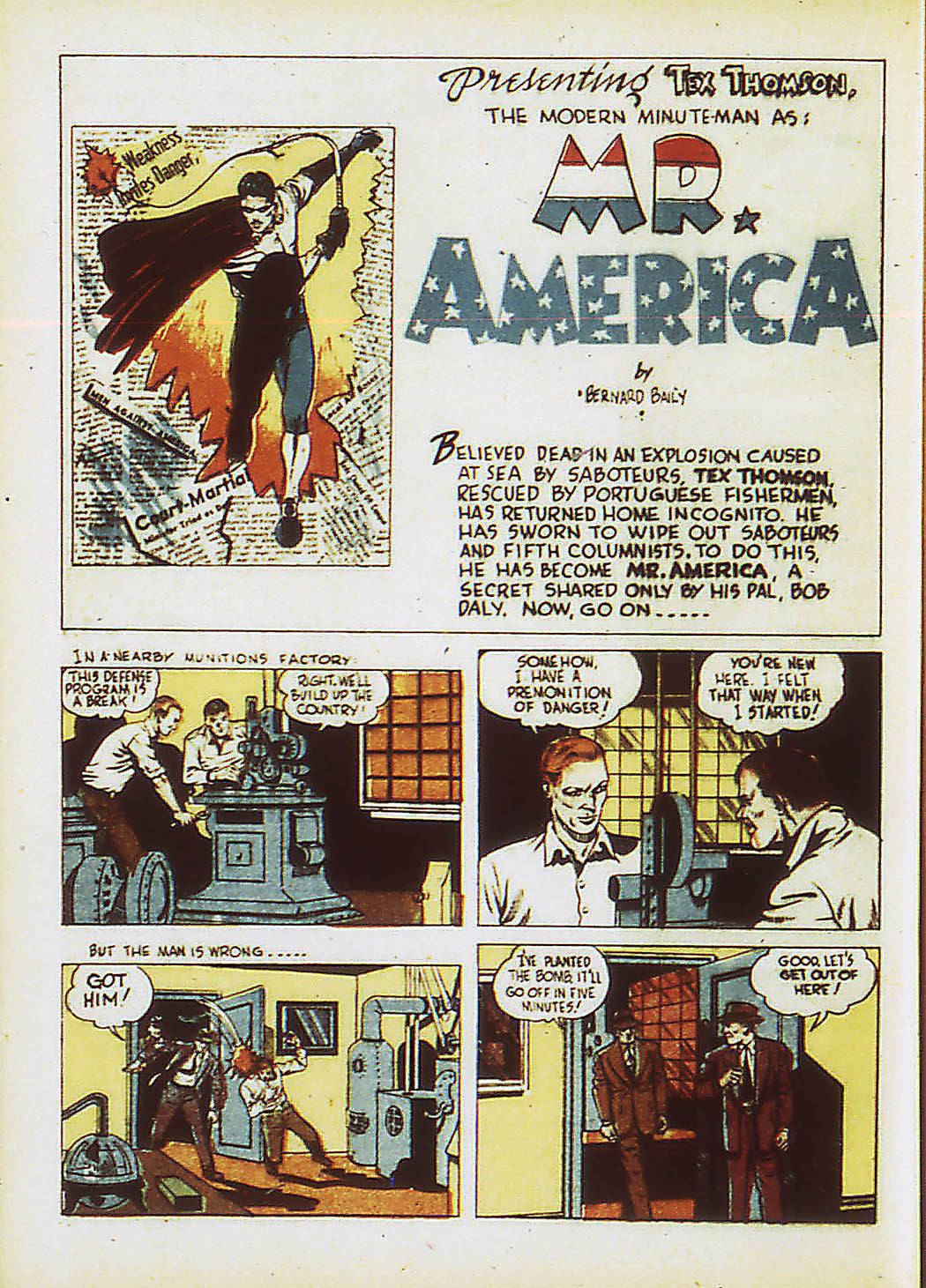 Read online Action Comics (1938) comic -  Issue #34 - 39
