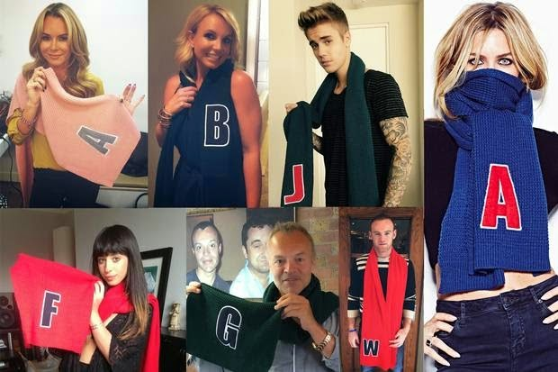 Celebrities Alder Hey Scarves