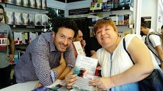 Mikel Santiago y María Loreto Navarro Pacheco. Blog Negro sobre Blanco
