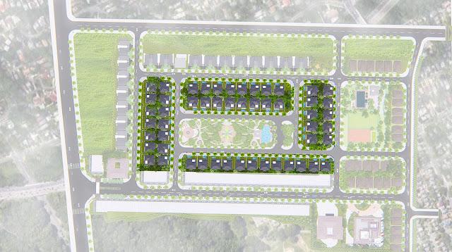 Biệt thự đơn lập có bể bơi Phổ Yên Residence