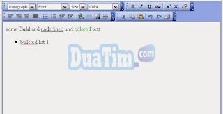 Teks editor html terbaik untuk website anda 3