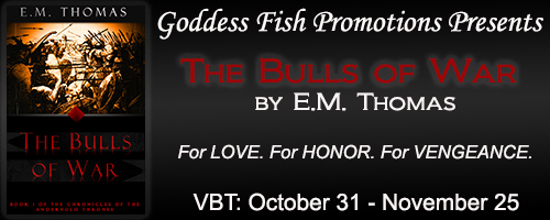 https://goddessfishpromotions.blogspot.com/2016/10/vbt-bulls-of-war-by-em-thomas.html