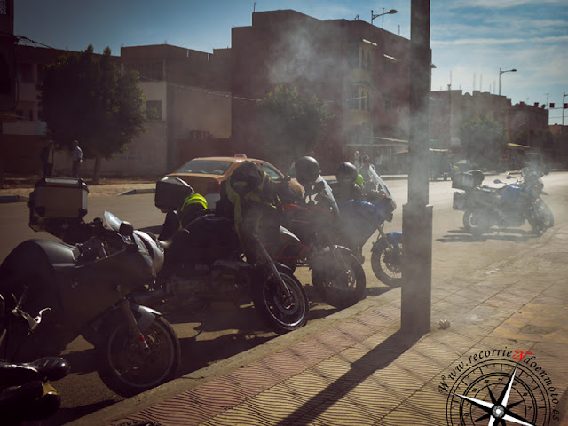 motos ahumadas