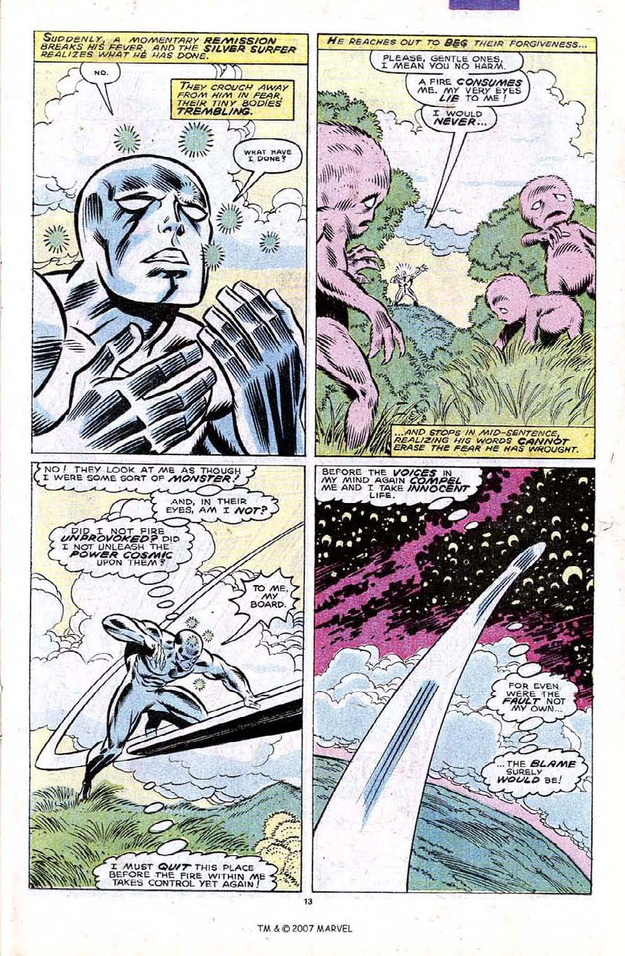 Read online Silver Surfer (1987) comic -  Issue #32 - 15