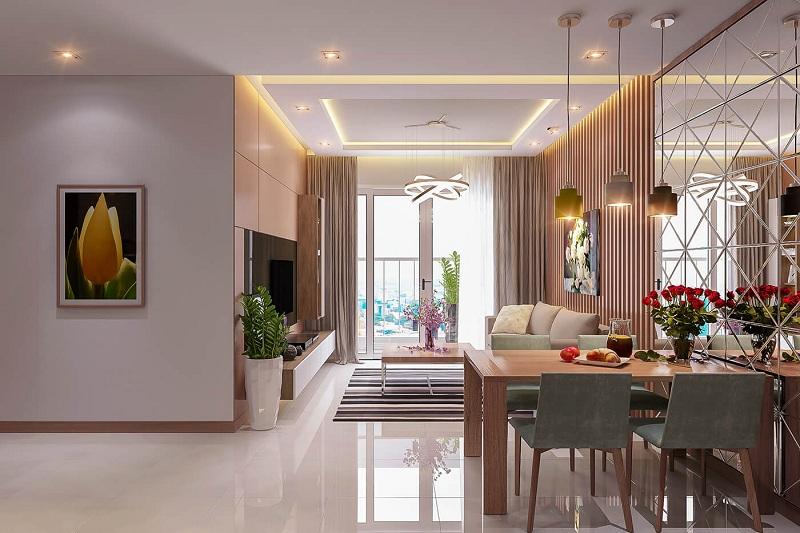 Tư vấn thiết kế nội thất chung cư hiện đại theo xu hướng năm 2018 - H7