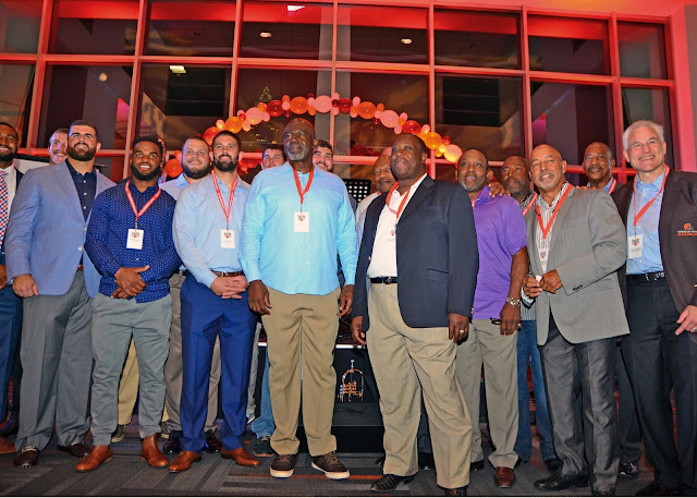 Browns players, Cleveland, Taste of the Browns