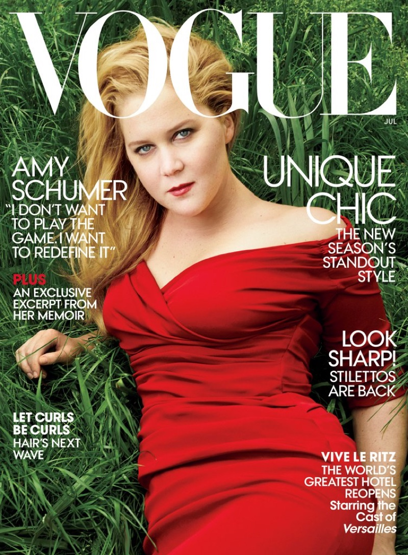 laura@nubiles.net 7 Why do you think Vogue magazine put Amy Schumer on the cover of its July issue? Isn't it because men don't like Amy Schumer?