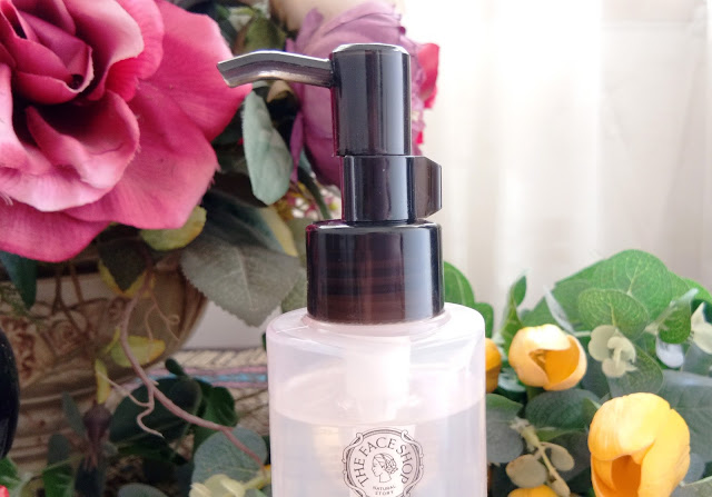 Review The Face Shop Rice  Cleansing Oil