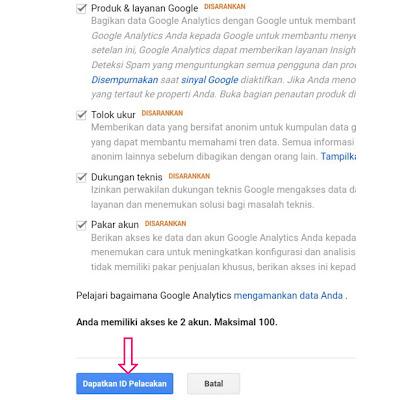 Cara Mendaftarkan Blog Ke Google Analitycs