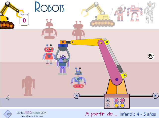 Robots. Brazo robot.