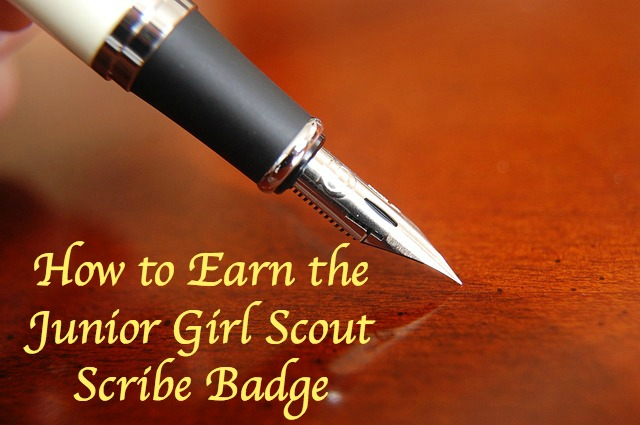 How to earn junior girl scout badges how to earn the junior girl how to earn the junior girl scout scribe badge complete meeting plans solutioingenieria Images