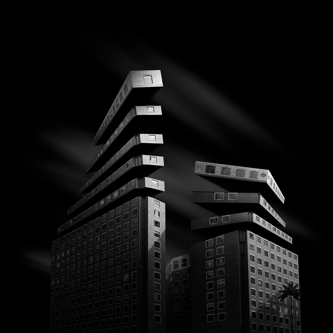 09-Daniel-Garay-Arango-Black-and-White-Surreal-Photographs-Architectural-Deconstruction-www-designstack-co