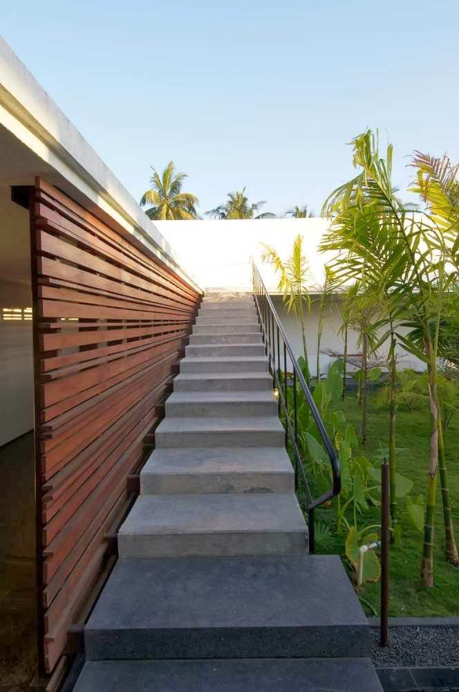 modern exterior design for stairs