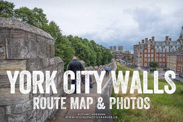 York City Walls map, route, photos, best view