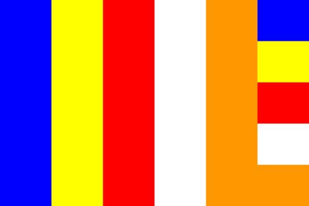 Mengenal Arti Bendera Buddhis