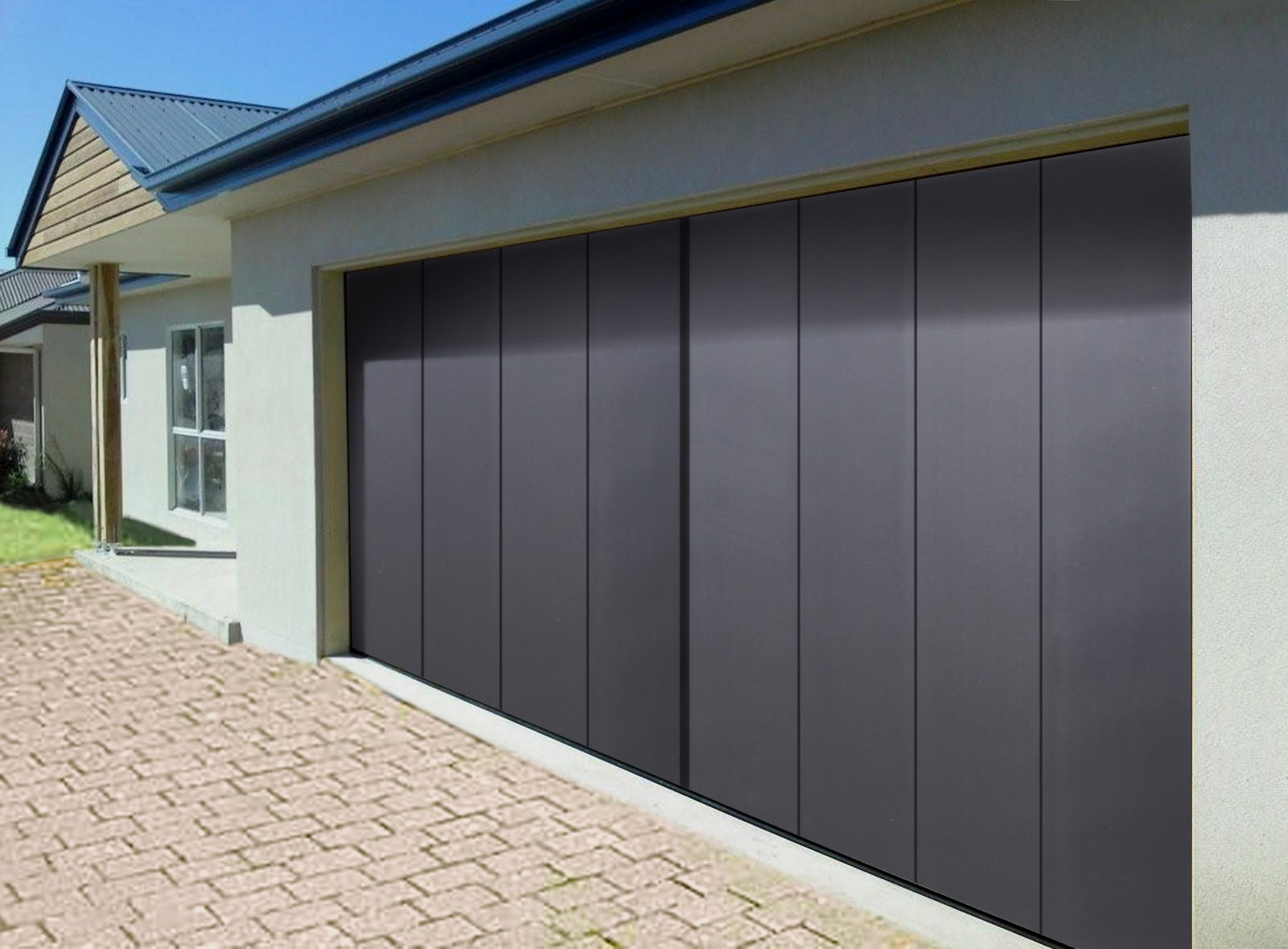 Amazing Side Sliding Doors Are Compatible With Garage Door Operators.