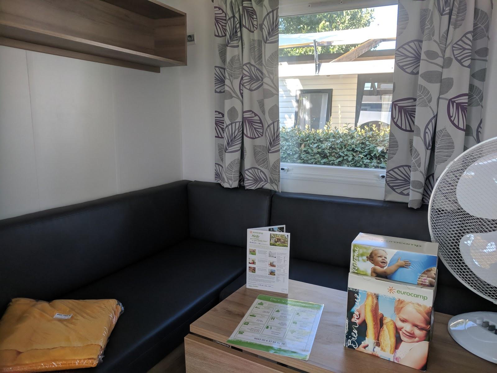 Les Ecureuils Campsite, Vendee - A Eurocamp Site near Puy du Fou (Full Review) - avant lodge living room