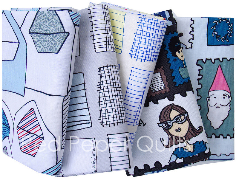 Paper Obsessed by Heather Givans for Windham Fabrics | Red Pepper Quilts