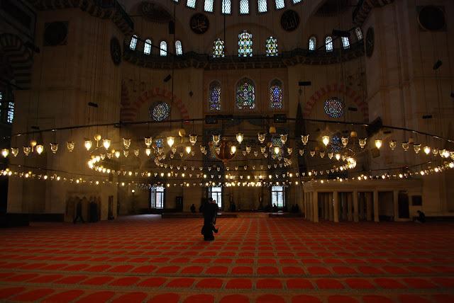 Мечеть Сулеймание (Süleymaniye Camii), Стамбул, Турция.