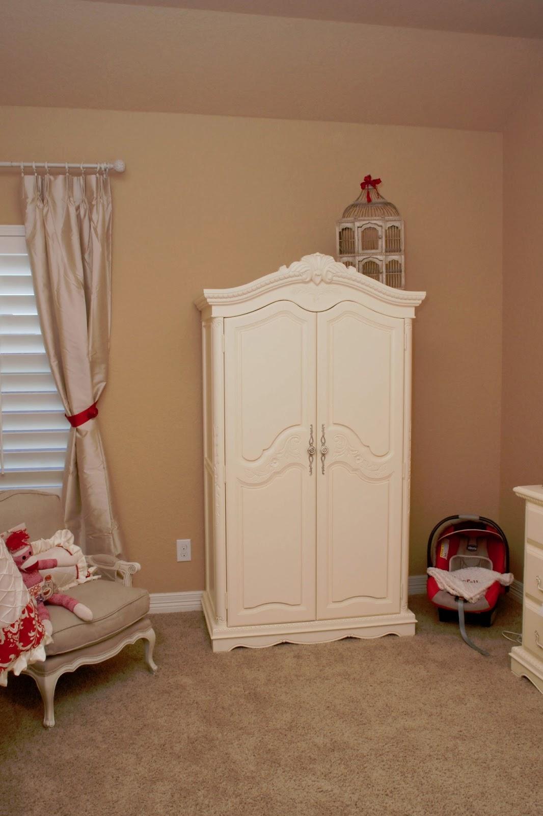 Restoration Hardware Outlet >> The Sweatman Family: Scarlett's Red & Ivory Nursery