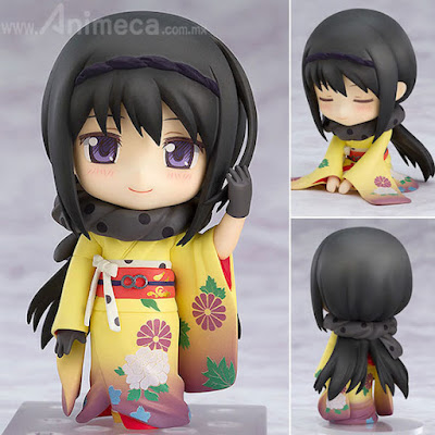 Figura Homura Akemi Kimono Ver. Nendoroid Puella Magi Madoka Magica the Movie