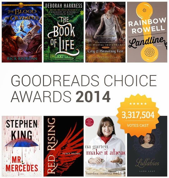 Goodreads Choice Awards: Results For Best Books Of 2014 ...