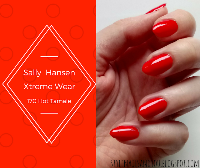 Sally Hansen Xtreme Wear 319|170 Hot Tamale