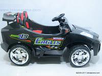 1 Mobil Mainan Aki DOESTOYS DT66 LAMBORGHINI dengan 2 Dinamo Motor