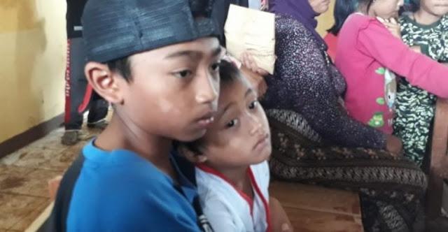 Pergi Mengaji, Kakak dan Adik Selamat dari Longsor Maut Sukabumi