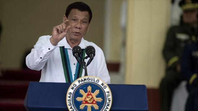 Duterte insta a los líderes mundiales a dialogar con Pyongyang