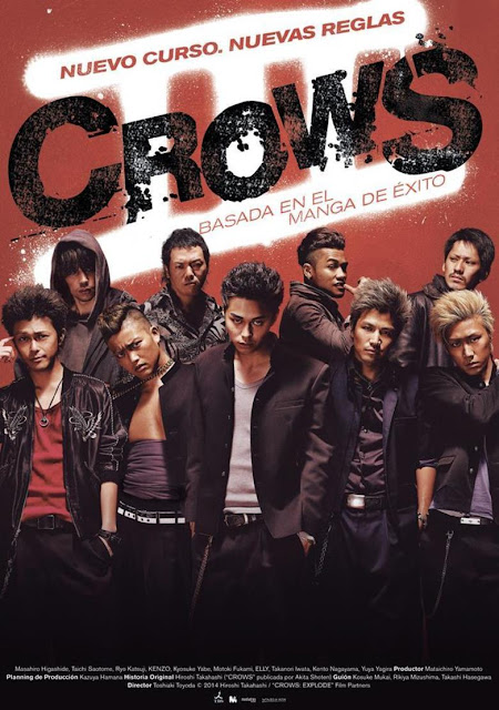 Bosbioskop Crows Explode 3 (2014)