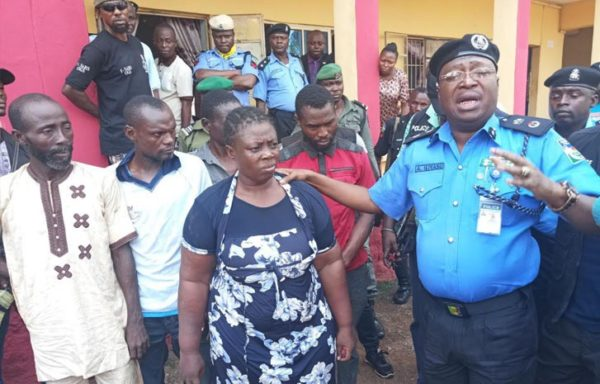 ifa priestess working with robbers